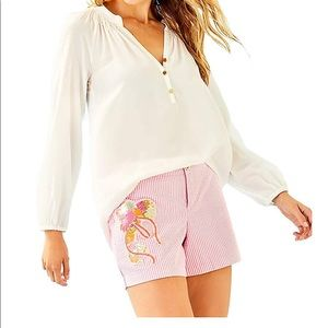 Lilly Pulitzer Callahan Party Short Pink Cosmo